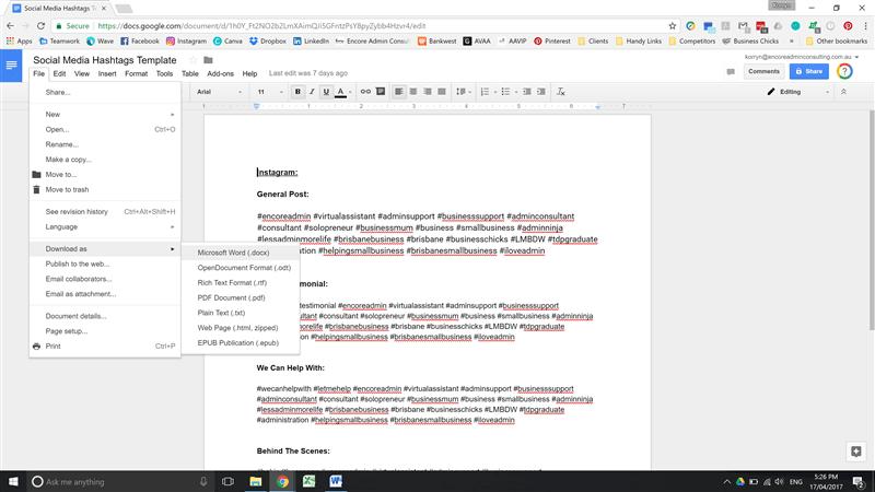 Google-Doc-Screenshot-Example