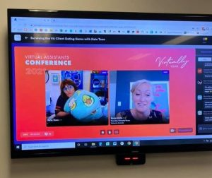 Virtually-Yours-Conference-2021-Kate-Toon-MC-and-Rosie-Shilo